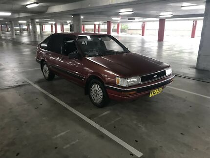 Toyota Corolla seca csx ae82 1988 6months rego swap and trade