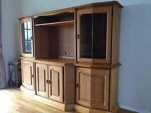 Hand Crafted Solid Timber Wall Unit Guyra Guyra Area Preview