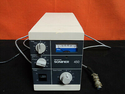 Branson Sonifier 450 Cell Disrupter 100-132-137