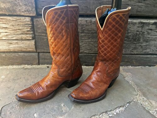 Vintage collectable OLSEN STELZER Cowboy Boots