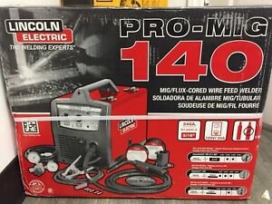 Lincoln Electric- Brand new Pro -Mig 140 Welder