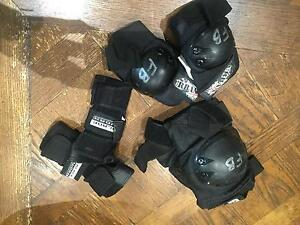 Protective gear- Wrist guards, elbow and knee pads Hawthorn Boroondara Area Preview