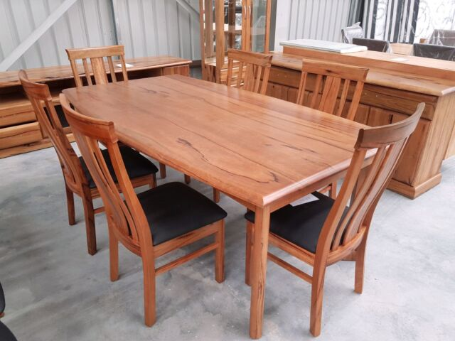 New 1800 FULL Marri dining table only Dining Tables  : 58 from www.gumtree.com.au size 640 x 480 jpeg 49kB
