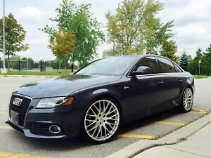 Audi A4 with Full Stasis Package and Many Mods