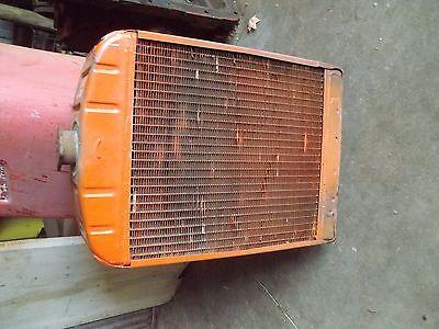 Case Vac 14 Tractor Good Working Engine Motor Radiator Assembly Fan Shroud Cap