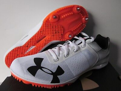 Under Armour Kick Distance Spike Men's Track and Field Shoes Size 10.5