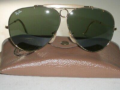 1980's VINTAGE B&L RAY BAN G15 UV ARISTA GOLD PLAT
