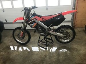 2001 Honda CR125 with papers