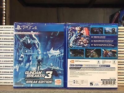 Ps4 Gundam Breaker 3 Break Edition Asia English Version Rare!, usado comprar usado  Enviando para Brazil