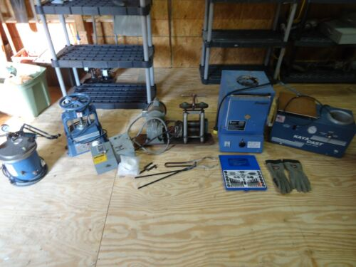 LOT Used Equipment from Jewelry Business, Kiln, Vacuum, PARAGON, Rolling Mill