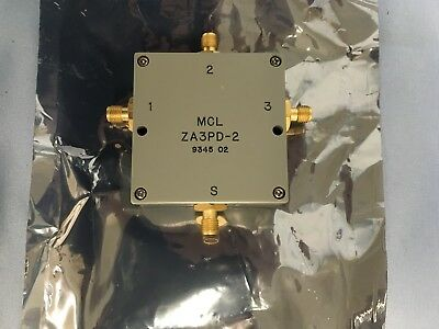 2ghz Rf Splitter 3 Way - Mini-Circuits ZA3PD-2, 1-2GHz SMA RF Power Splitter/Combiner 3Way 0º 50Ω