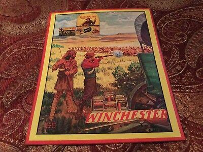 Winchester gun poster sign