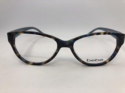 NEW Bebe BB5079 Kindness 415 Blue Tortoise 51.16.135 Eyeglass Frames