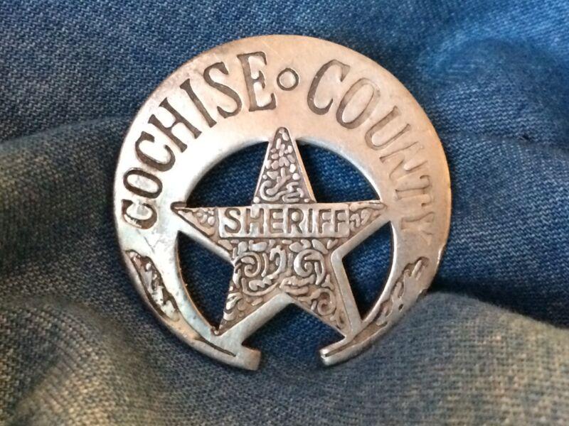 Nice Old West Badge