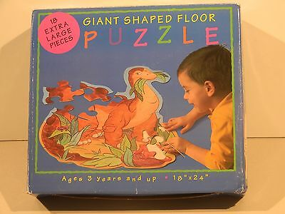 Giant Shaped Floor Puzzle Dinosaur great american puzzle factory