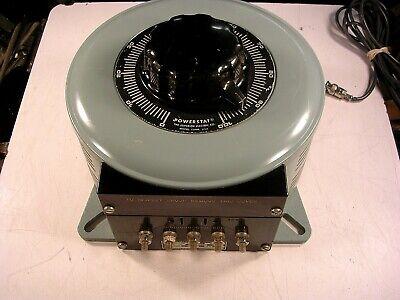 Powerstat Type 146 Variable Autotransformer 120v 30a 4.2 Kva Single Phase