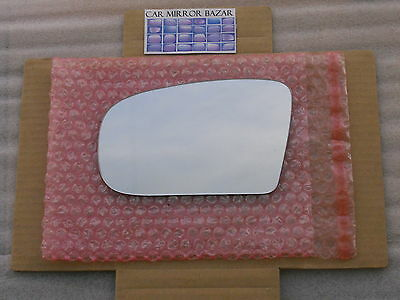 (747L NEW Mirror Glass Fits 00-06 Mercedes-Benz S CL AMG Class Driver Side LEFT L)
