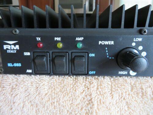 RM KL503 Linear Amp
