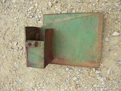 John Deere M Jd Tractor Side Panel Cover Door W Tool Box