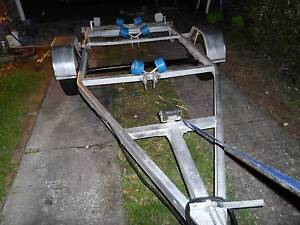BOAT TRAILER TO SUIT 12 TO 13 FT GOOD CONDITION REGO TILL 12/2017 Canterbury Canterbury Area Preview