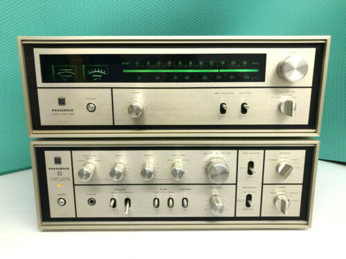 Panasonic  Technics SU-3604 Amlifier and ST-3600 Tuner  Rare Collectors Dream