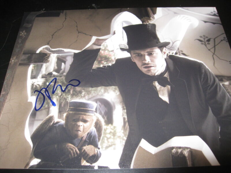JAMES FRANCO SIGNED AUTOGRAPH 8x10 PHOTO OZ THE GREAT AND POWERFUL IN PERSON F