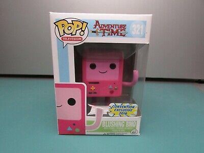 Funko Pop! Adventure Time Blushing BMO 12 Damaged Con 16'