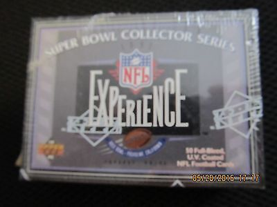 (1993 UPPER DECK NFL EXPERIENCE SUPER BOWL COLLECTOR SERIES FACTORY SEALED SET )