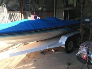 Stephens ski boat