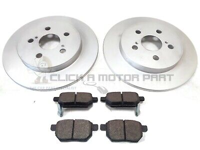 REAR 2 BRAKE DISCS & PADS FOR LEXUS CT200H 1.8 HYBRID 2010 TO 2016 CHECK CHOICE
