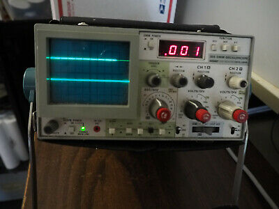 Tektronix Sony 305 Portable Dmm Oscilloscope Probs
