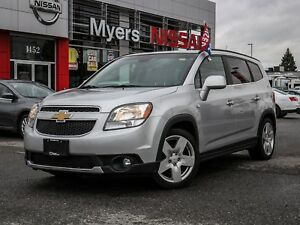 2012 Chevrolet Orlando LTZ leather, heated seats, sunroof, elect