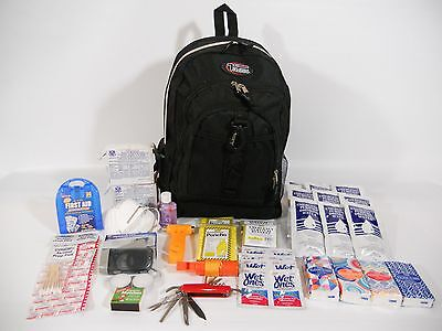 2 Person 72 Hour Emergency Preparedness Kit Disaster Survival EarthQuake Zombie2