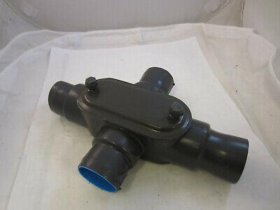 Ocal Tb Thomas Betts 2 X Fitting X67-g Pvc Coated Robroy