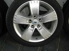 SET BF FALCON XR6 FACTORY ALLOYS AND EXCELLENT TYRES Adelaide CBD Adelaide City Preview