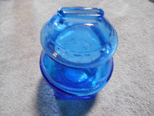 WHEATON - BLUE POT BELLY BLUE BANK