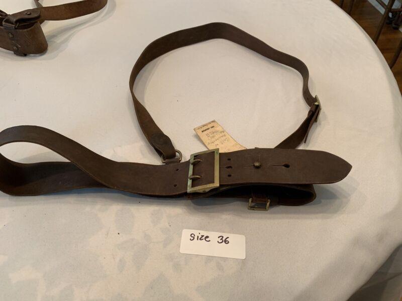 Sam brown belt ww2 original Size 36