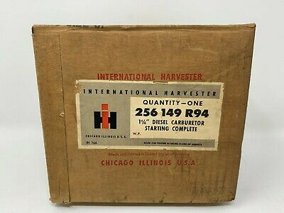 256149r94 Carburetor International Harvester Diesel Ud-16 Ud-525