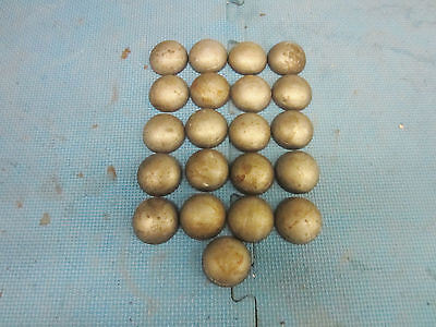 Pipe Caps Domed Steel Weld On Size 1-58 Inch Outside Diameter. Lot Of 25.