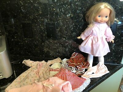 """Vintage 1970 Fisher Price 16"""" My Friend Mandy Doll W/ Clothes"""