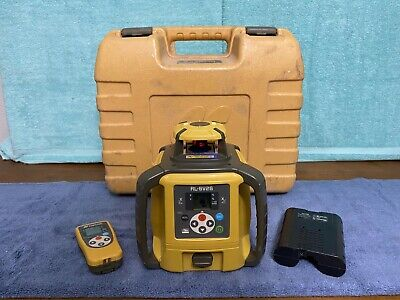 2017 Topcon Rl-sv2s Dual Slope Rotary Laser Level W Rc-60 Remote And Case