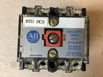 Allen Bradley 700dc-p200z24 Relay With 24 Volt Dc Coil