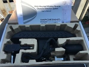 NIB Hitch Mounted Wireless Reverse Obstacle Detection System