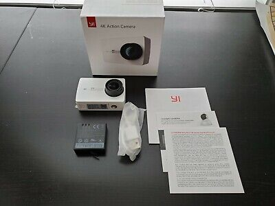 YI 4K Sports and Action Video Camera (US Edition) White Pearl (OPEN BOX)