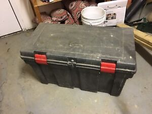 Rubber Maid Tool Box