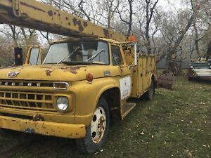1965 Mercury bucket truck
