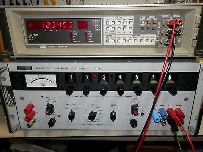 Fluke 335a Dc Voltage Standard-differential Voltmeter-null Dectector