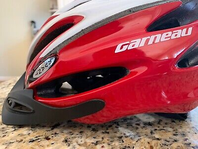 Louis Garneau Global II Cycling Helmet Size M//L Red//Grey 54-61cm