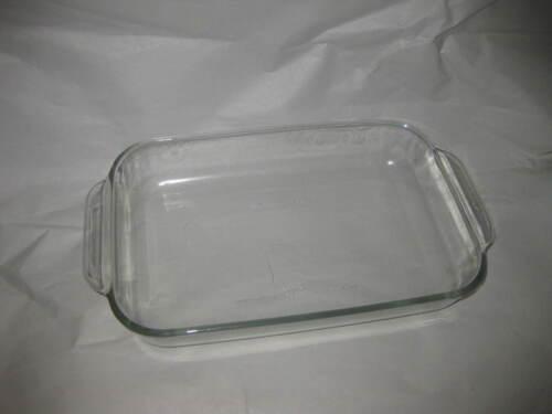 Vintage Pyrex - Clear Glass Dish 2.2 QT 7.5 x11 Baking Casserole Dish ( 232)