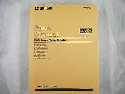 CAT Caterpillar D6R 4JR TRACTOR DOZER Parts Manual  4JR  SEBP2636 for sale  Minerva